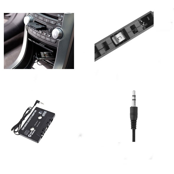 ADATTATORE DA AUTO CASSETTE STEREO LETTORI MP3 CD CAR AUDIO AUTORADIO