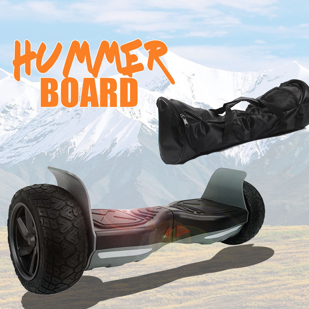 Hoverboard Overboard Bluetooth Speaker 8.5 borsa Monopattino 700 Watt NERO