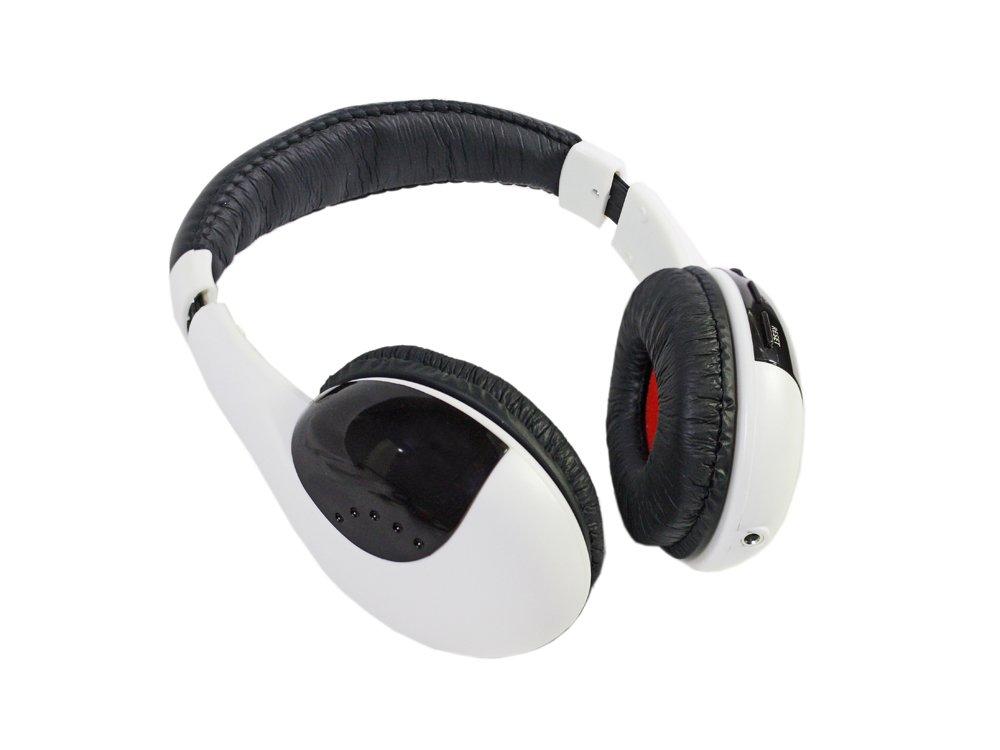 ... Cuffie wireless per tv pc mp3 con radio fm cuffia stereo senza fili  CU-WI001 26ec9a4dd5e9