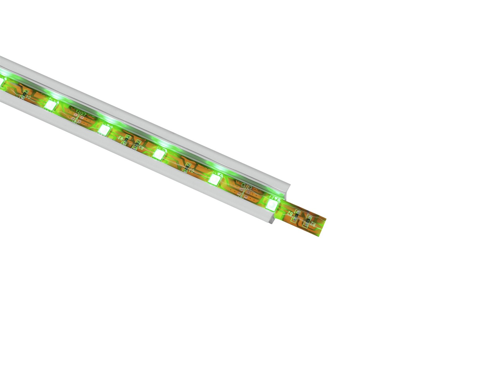 Aluminium profile Silver Protection For Led strips 2 MT MSA EUROLITE