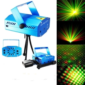 MINI PROIETTORE LASER STAGE PROJECTOR LIGHTING DJ COLORI M-N1 GIVIMUSIC