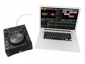 Cdj mp3, cd, 2 usb ports, ID3 tag, usb pen drive, OMNITRONIC DJS-2000