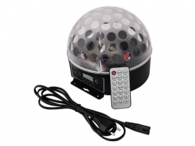 Effetto luce Light per Dj Mini ball a led DMX Eurolite Beam BC-7