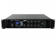 OMNITRONIC MP-250P amplificatore mixer MP3 SD USB 250 watt
