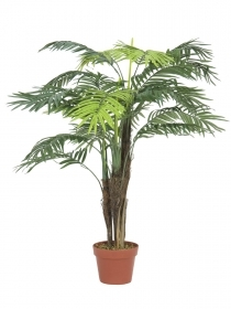 EUROPALMS pianta artificiale palma Areca, 110 cm