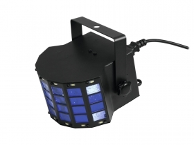 Effetto luce proiettore light EUROLITE LED Mini D-6 Ibrido Beam 12 watt