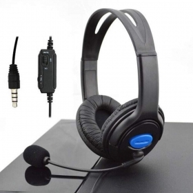 Cuffie con Microfono Gaming Headset Avanzate per PC PS4 Xbox One Laptop iPhone