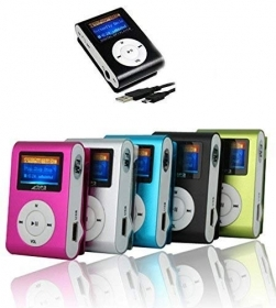 Lettore MP3 Player Mini Clip U