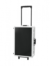 Flight case trolley cdj and music cds ROADINGER black 120 cd's