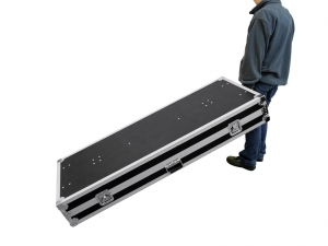 Flight case per DJ banco multiuso ROADINGER 2 162x62 cm