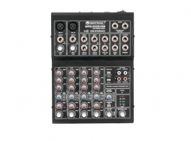 Dj Mixer usb audio interface pc mac 4 channels OMNITRONIC MRS-1002USB