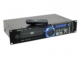 CD player DJ MP3 IR remote control security anti-shock OMNITRONIC XMP-1400